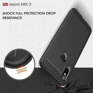 🚚 TPU Shockproof Lined Case for Xiaomi MI Mix 3 (Black)