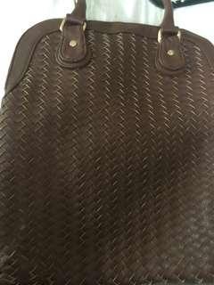 Neiman Marcus weave bag