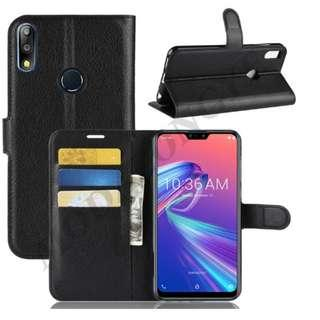 🚚 Flip Case for Asus Zenfone Max Pro M2 ZB631KL (Black)