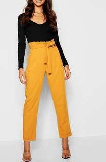 Yellow Tailored Pants