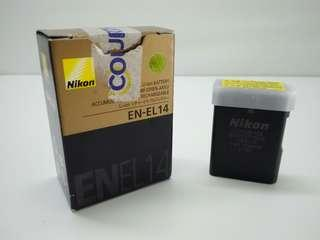 EN-EL14 Rechargeable Li-ion battery (with terminal cover)