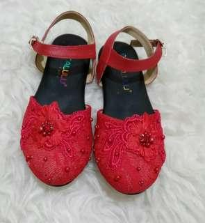 Shoes red