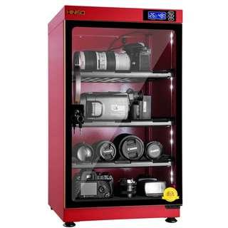🚚 90L Dry Cabinet Box Candyfloss Red BNIB 5 Years Local Warranty Hiniso