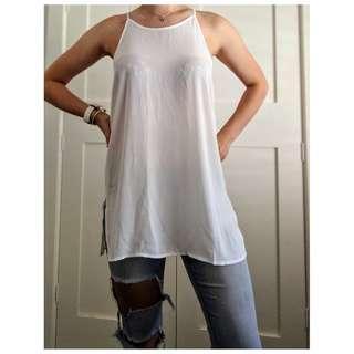 Cotton on White cami size S