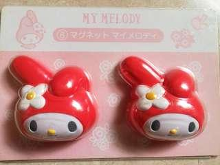 My Melody Magnet Set