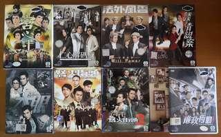 Hong Kong drama DVDs