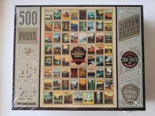 America's National Parks 100th Anniversary Puzzle 500 pieces