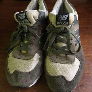 NEW BALANCE 574 ARMY GREEN