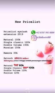 Eyelash Extension Rumahan 100rban