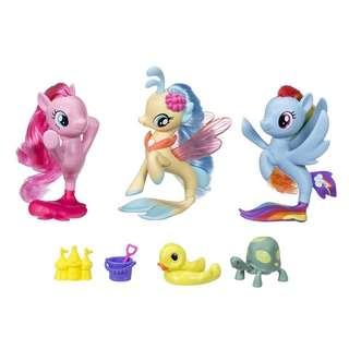 BRAND NEW My Little Pony the Movie Seapony Collection Set