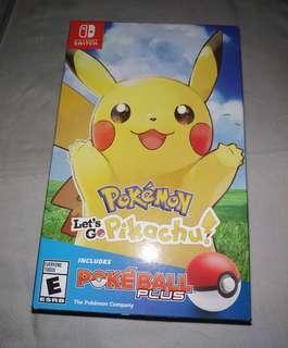 Pokemon Let's Go Pikachu Brand new