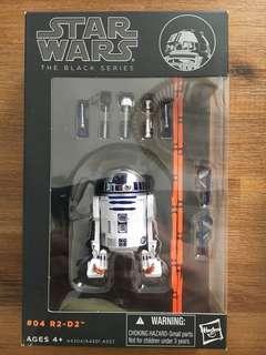 Star Wars Black Series R2-D2. Case fresh! Unopened! Brand New!
