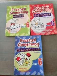 English workbook for primary 6