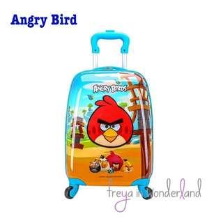 "🚚 18"" Angry Bird Kids Luggage Suitcase Cartoon Design Gift Idea"