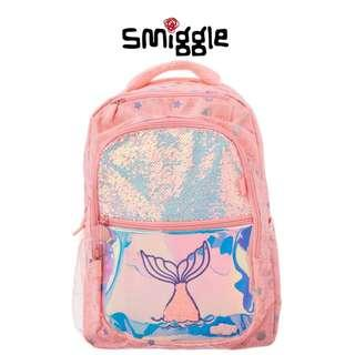 (AUTHENTIC) SMIGGLE Glitter Coral Backpack