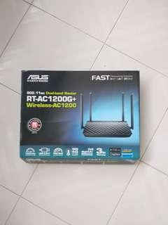 Dual-band Router ASUS RT-AC1200G+ Wireless AC1200
