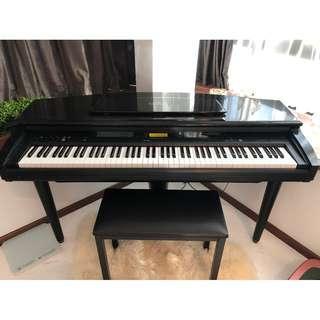 YAMAHA CLAVINOVA CVP-89 PIANO