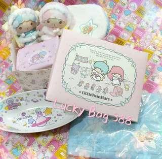 {福袋} Sanrio 系列 Set7 Little Twin Stars 7件入