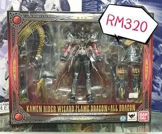 SALE!Limited stock. Bandai S.I.C Series Kamen Rider Wizard Dragon & All Dragon