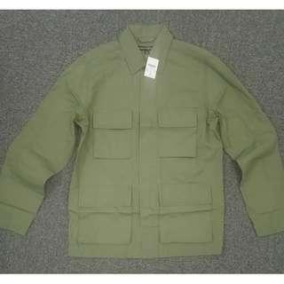 25折!J.Crew Factory軍綠色M-65感薄身冇內裡field jacket
