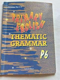Primary English thematic Grammar