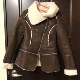 🚚 帥氣 麂皮 外套