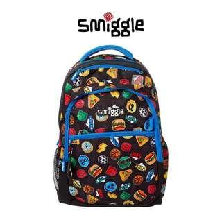 (AUTGENTIC ) SMIGGLE Hits Backpack [BLACK]
