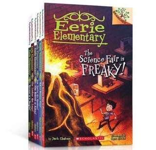 Scholastic Branches - Eerie Elementary-7 books set 6-8years old