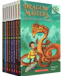 Scholastic Branches - Dragon Masters - 8 books set 6-8years old
