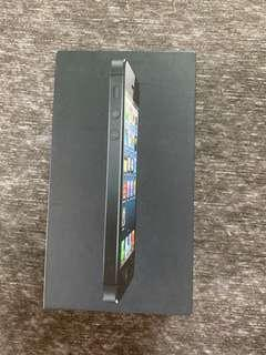 iPhone 5 Black 16GB (BOX ONLY)