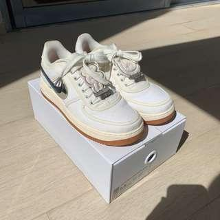 Nike Air Force 1 Travis Scott Sail