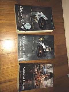 *3 for $17* The infernal devices bks 3 for $17