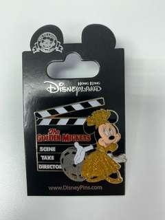 The Golden Mickey pin 迪士尼 襟章 Hong Kong Disneyland