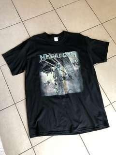 Megadeth Official Dystopia Tour Shirt