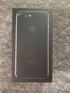 iPhone 7 Plus Jet Black 128GB (BOX ONLY)