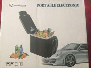 portable car cooler/heater