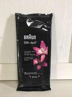 Braun Olay Pre-Epilation Wipes (new)