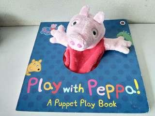 Peooa Pig Play with Peppa 粉红小豬手偶英文圖書