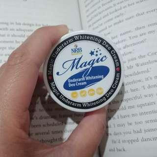 NRB MAGIC Underarm Whitening Deo Cream