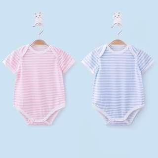 [NEW] Cute Unisex Stripe Baby Boy and Girl Romper Soft Comfortable One-piece Bodysuit