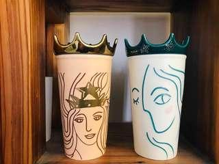 Starbucks 韓國女神淘瓷杯