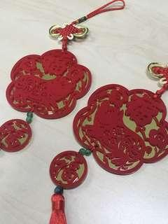 CNY Decor (RED/GOLD)