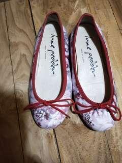 Luxe pedder  MIT手工鞋 真皮超軟芭蕾舞娃娃鞋