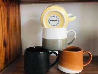 Starbucks 簡約款淘瓷杯
