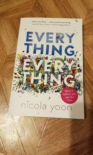 Everything Everything by Nicola Yoon YA