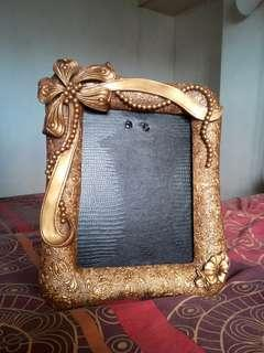 Mt. Pinatubo Ash Handcrafted Picture Frame