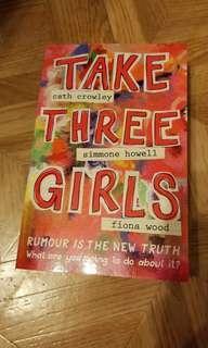 Take Three Girls YA Fiction