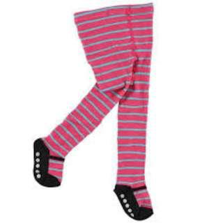 Luvable Friends  Ballerina Stripe Cotton Baby Girl Legging 0-24 mths / 2-4 years old IBY01553