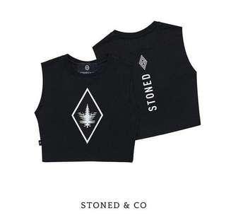 Original Stoned & Co Crop Top