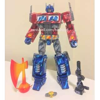 (In Stock) Collection Kingdom, KO Takara MP-10 MP10 Optimus Prime (Cell Shade), Reissue, Transformers MP